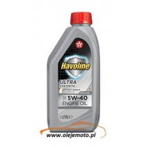 TEXACO HAVOLINE ULTRA 5W40 1L
