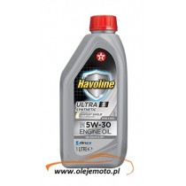TEXACO HAVOLINE ULTRA S 5W30 1L